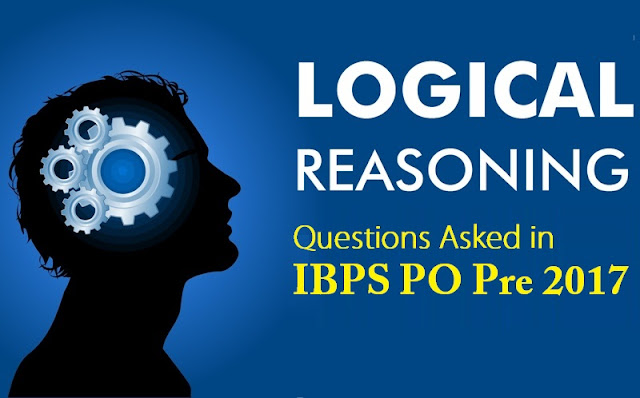 Reasoning Questions for SBI Clerk 2018 : 21 March