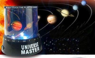 Lampu Proyektor Planet
