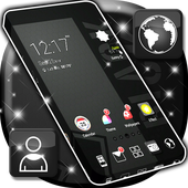 Black Theme Launcher APK