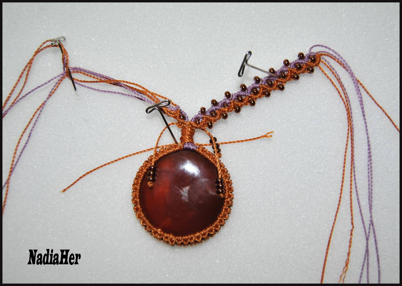 Les Bijoux De Nadia Wire Wrapping Fimo Et Macrame