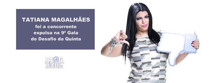Tatiana Magalhães foi a concorrente expulsa na 9ª Gala do Desafio - Resultados Oficiais vs Sondagens