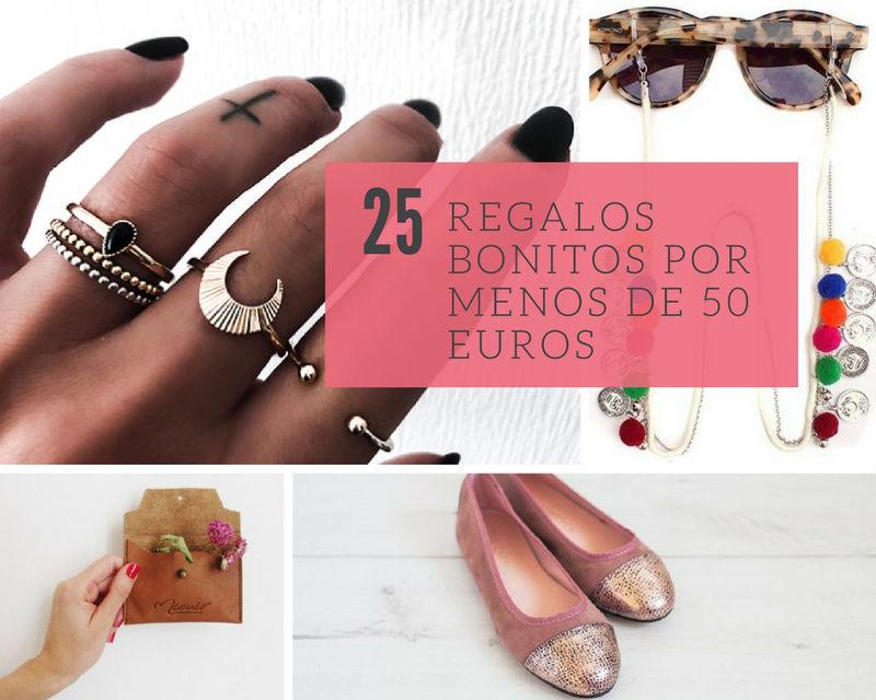 25 ideas de regalos bonitos por menos de 50 euros