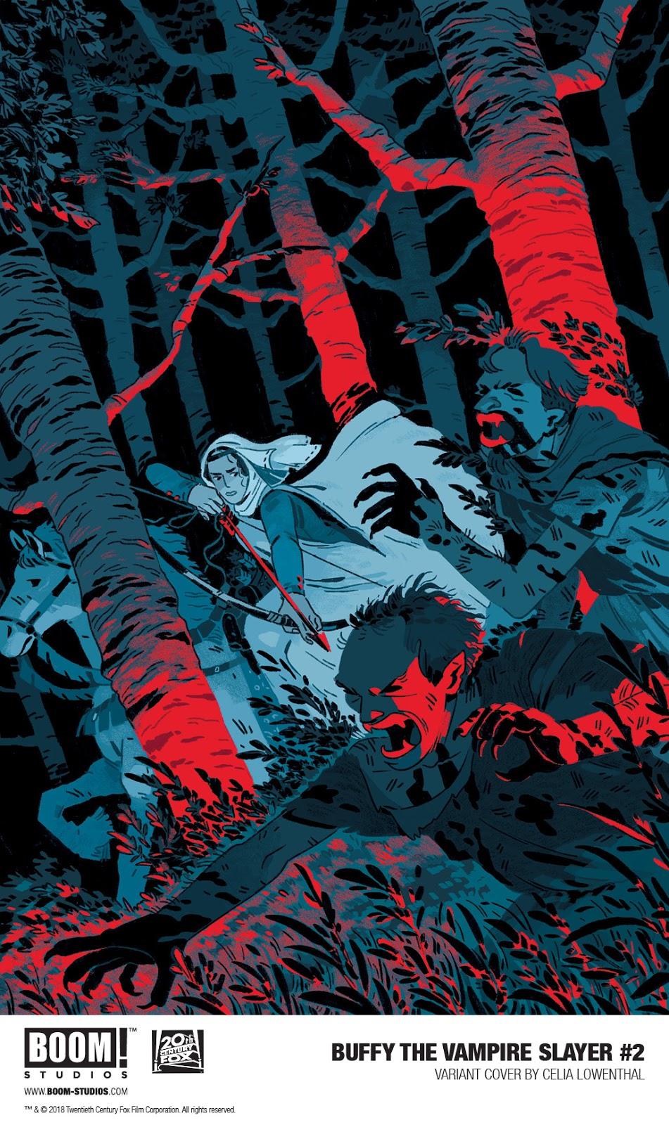 Celia Lowenthal Covers BUFFY THE VAMPIRE  SLAYER #2