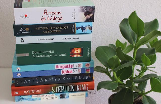 2017. januári beszerzések könyves vélemény, könyvkritika, recenzió, könyves blog, könyves kedvcsináló, György Tekla, Tekla Könyvei