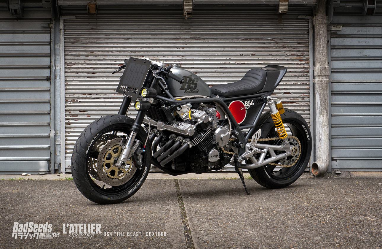 racing caf honda cbx bs4 the beast by bad seeds. Black Bedroom Furniture Sets. Home Design Ideas
