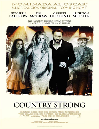 Ver Una nueva oportunidad (Country Strong) (2010) Online