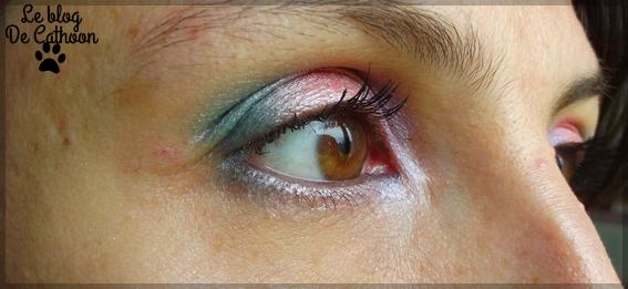 Maquillage avec produits BYS