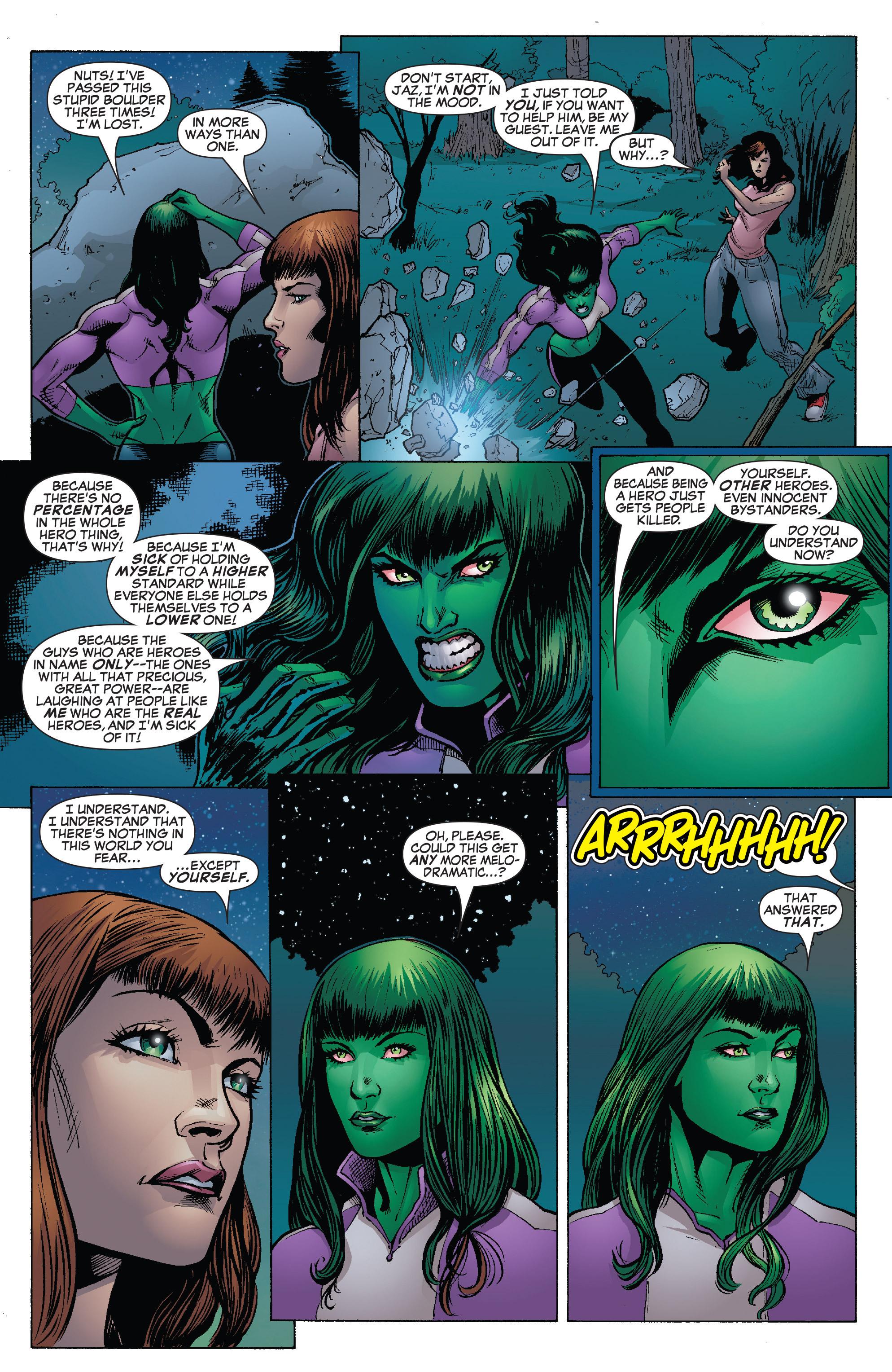 Read online She-Hulk (2005) comic -  Issue #25 - 19