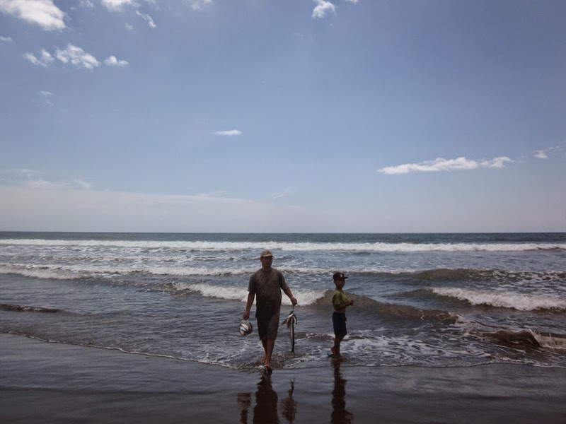Tempat Wisata Pantai Yeh Gangga Tabanan Bali
