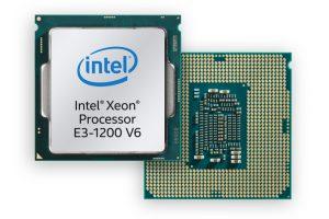 Intel Release Xeon Processor E3-1200 v6 Product Family