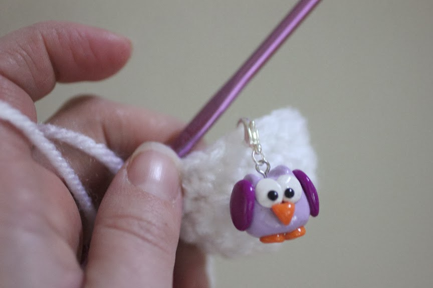 Knitting Markers Homemade : Diy owl stitch markers with polymer clay repeat crafter me