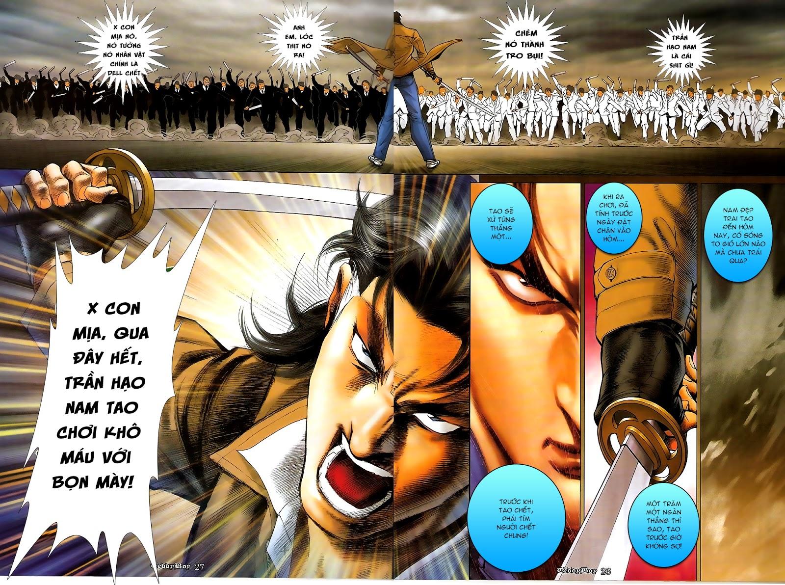 Người Trong Giang Hồ - Chapter 1218: 1 vs 1000 - Pic 25