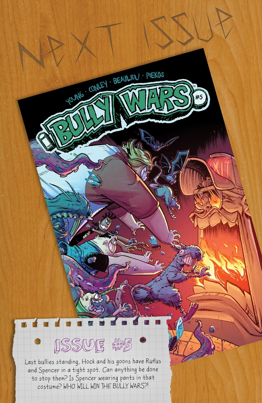 Read online Bully Wars comic -  Issue #4 - 24