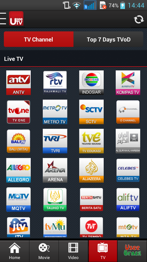 Live Streaming TV Lewat Aplikasi Android