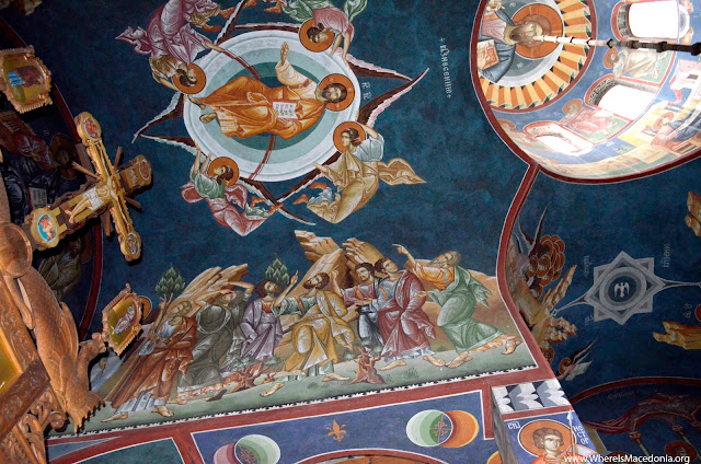 Holy Mother of God church - Kalishta Monastery near Struga, Macedonia