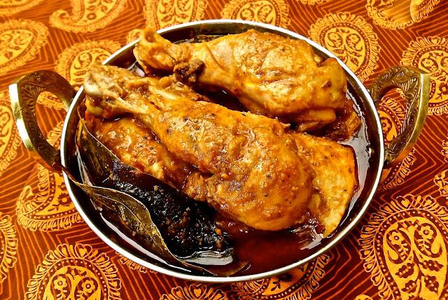 Khukura Nepal maso ko spicy