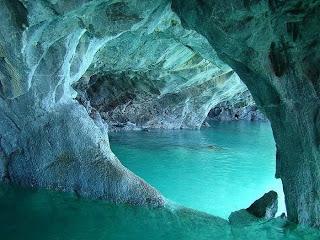 Hermosas cavernas de mármol.