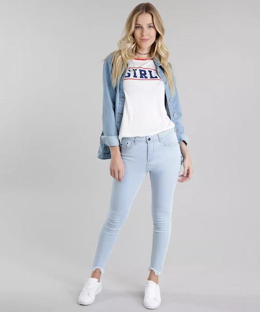 para curtir o dia com estilo essa blusa é a escolha certa