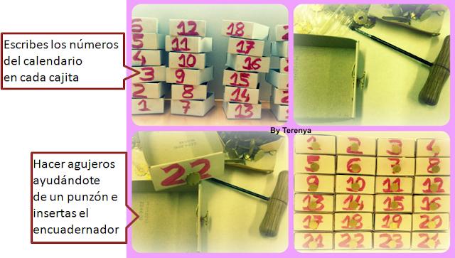 manualidad-calendario-adviento-cajas-cerillas