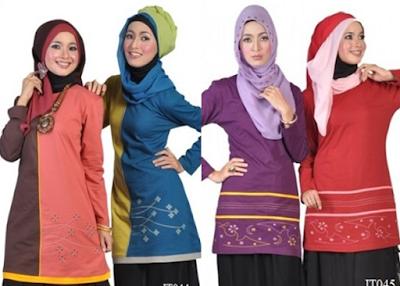 Busana Muslim Remaja Bahan Katun