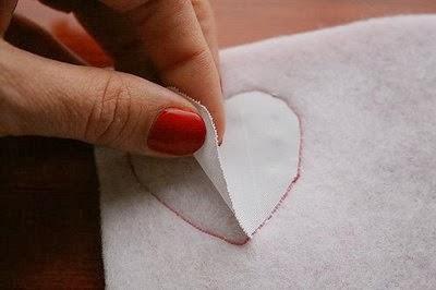 regalo en tela dia de los enamorados