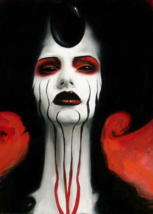 demon makeup images