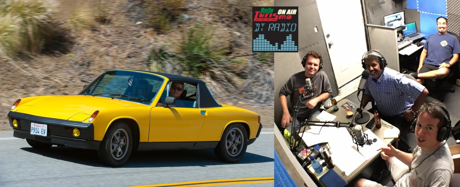 DT Radio Show Ep 18: Mark Brems And The Electric Porsche 914