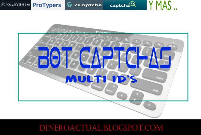 BOT para captchas, multiples cuentas en kolotibablo, protypers