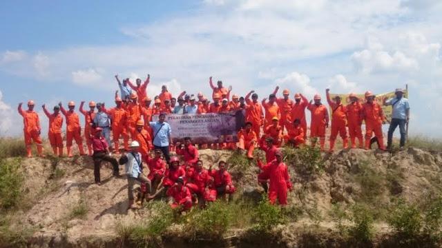 Cegah Karhutla, PT Sampoerna Agro Libatkan 140 Penduduk Lokal
