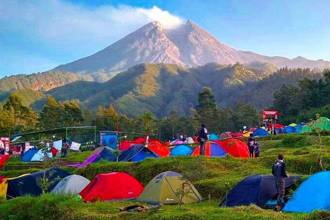Dlium Mount Merapi National Park