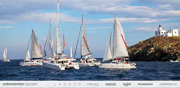 Με επιτυχία το 7ο Catamarans Cup 2016 που πέρασε από Πόρο και Επίδαυρο