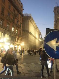 street by night, Milano