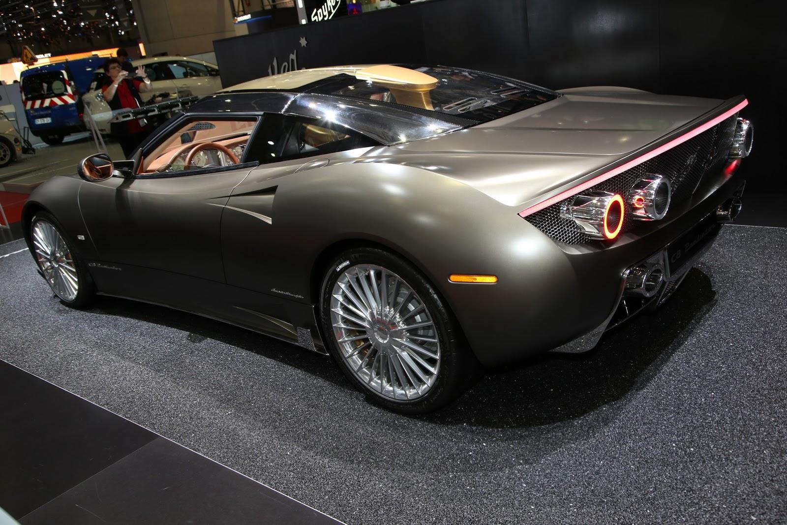 Spyker C8 Preliator Gets A New Spyder Version For Geneva ...