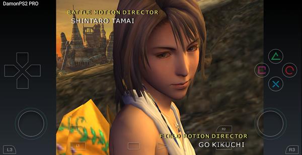 Screenshot Damon PS2 PRO (PS2 Emulator)