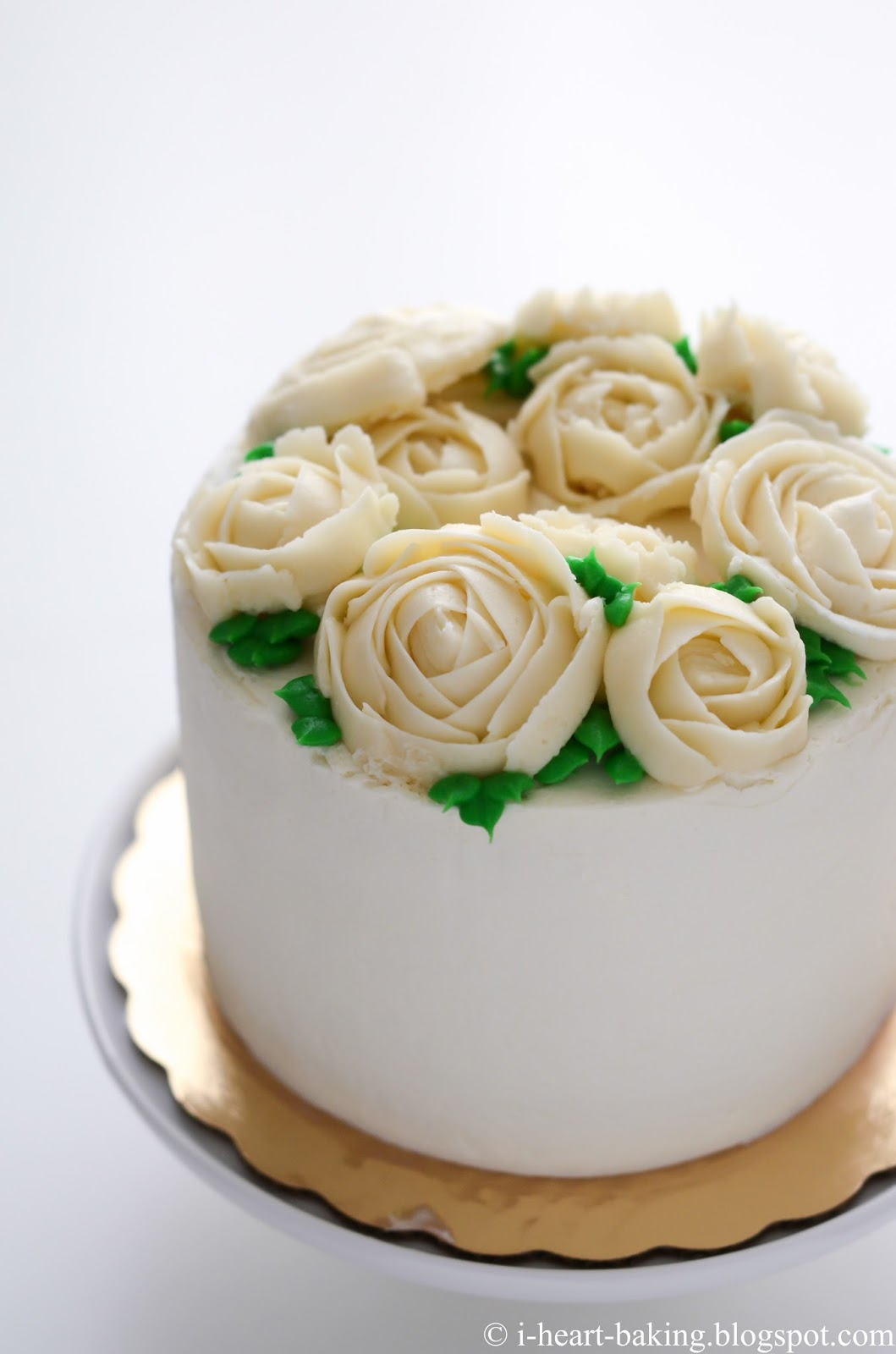how to make frosting roses without a rose nail
