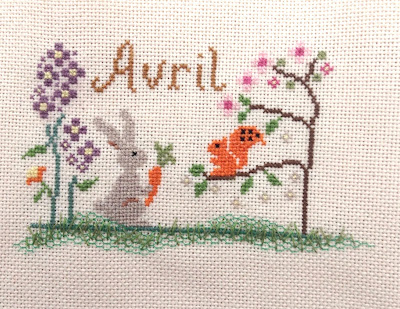 point de croix cross stitch joyfulworld sal