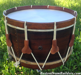 1880s Haynes Rope Tension Snare Drum