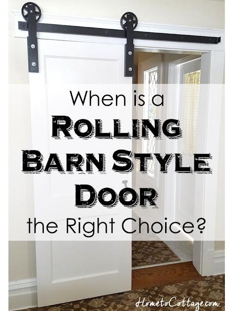 Rolling Barn Style Door