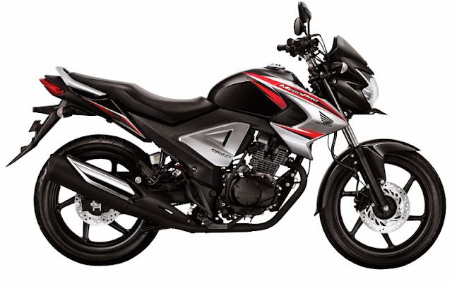 Gambar New Honda MegaPro FI 2015 150cc Hitam