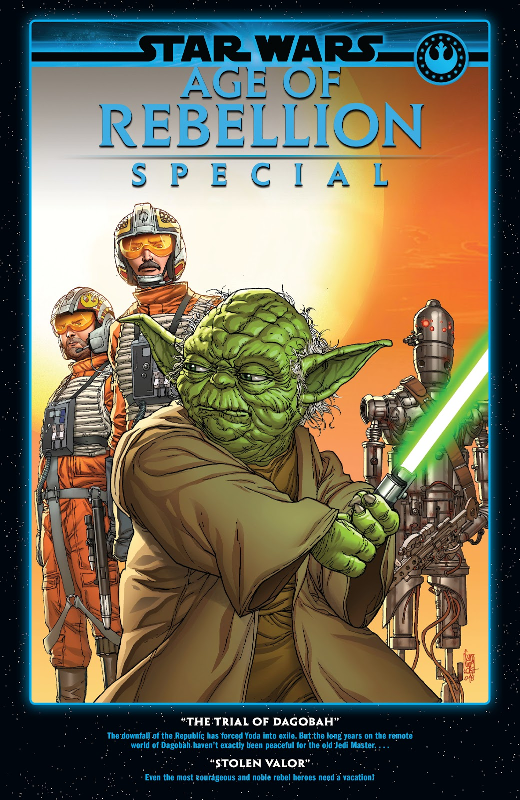 Read online Star Wars: Age of Rebellion - Heroes comic -  Issue # TPB - 94