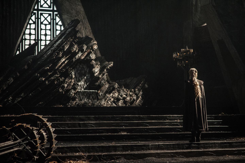 Daenerys en 'Game of Thrones 7x01 Dragonstone'