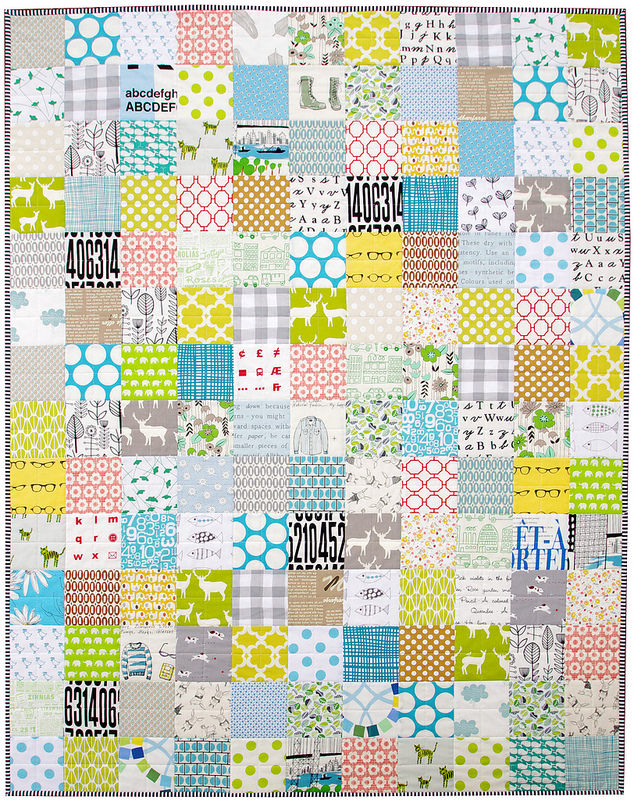 A Custom Order Baby Quilt | Red Pepper Quilts
