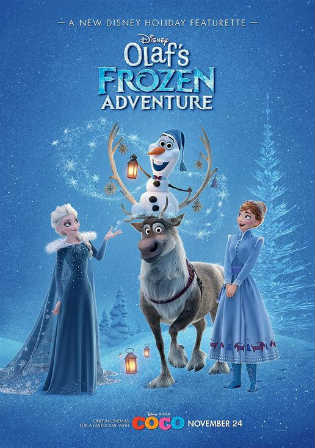 Olaf's Frozen Adventure 2017 WEB-DL 250MB Hindi Dual Audio 720p Watch Online Full Movie Download bolly4u