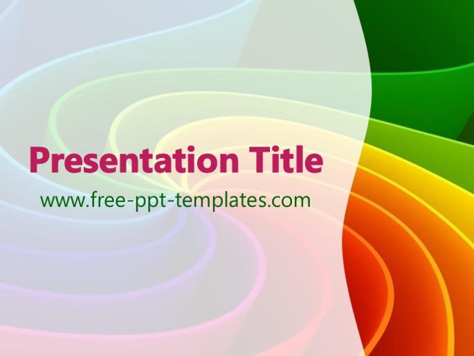 Rainbow Powerpoint Template Free Free Rainbow Powerpoint Template - rainbow powerpoint