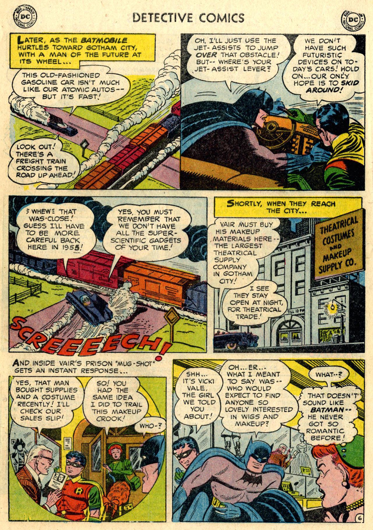 Read online Detective Comics (1937) comic -  Issue #216 - 8