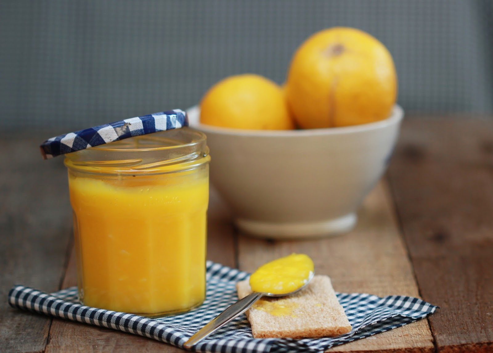 Recette Lemon curd