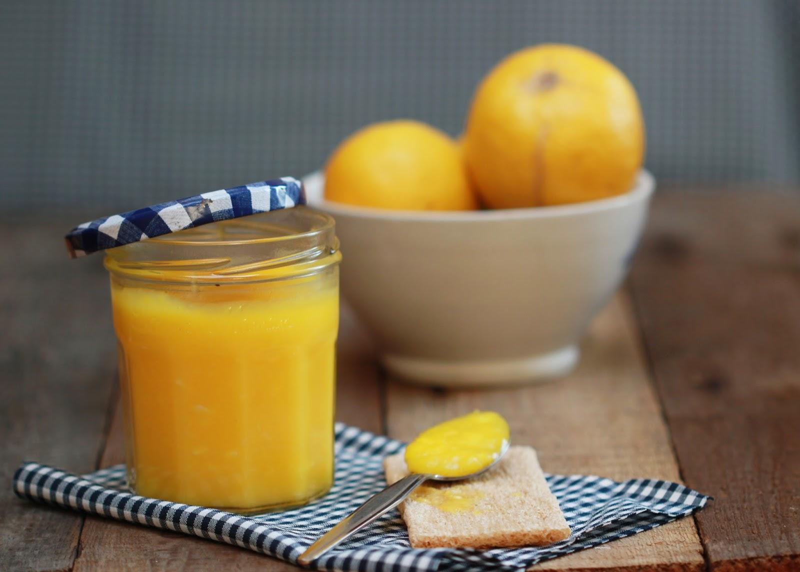 Recette Lemon curd