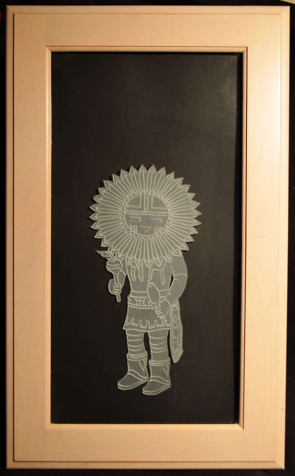 Etched Glass Designs: Etched Glass Kitchen Cabinet Doors