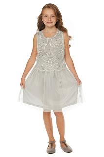 Older Girl's Sequin Detail Dress