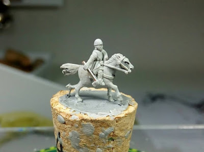 Mounted Sergeant with Axe